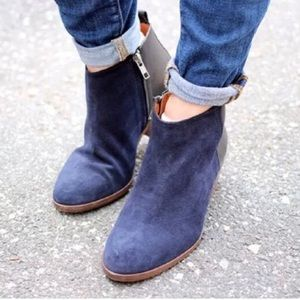 MADEWELL Charley Suede Leather Ankle Boots